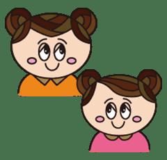 双子の妹:チヨ&チク