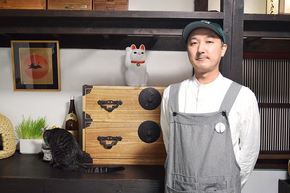 里親探し猫カフェおっぽ 神田弘樹さん