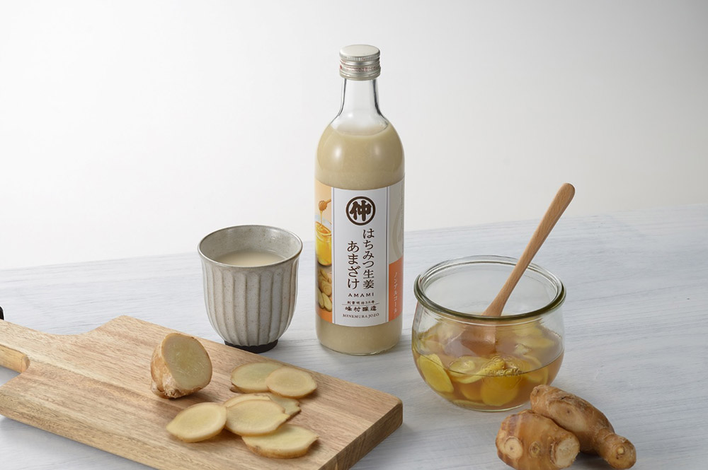 峰村醸造ハチミツ生姜甘酒