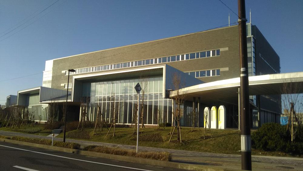 柏崎市役所新庁舎
