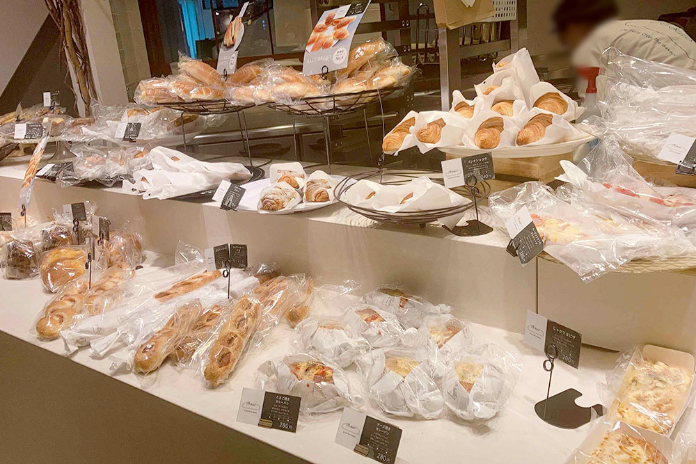 Je suis OWL the Bakery(ジェシー オウルザベーカリー)店内