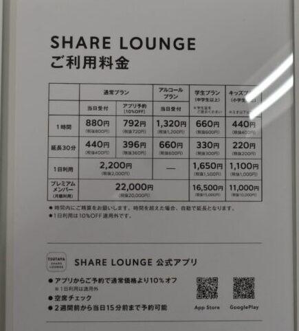 蔦屋書店新潟万代_シェアラウンジ