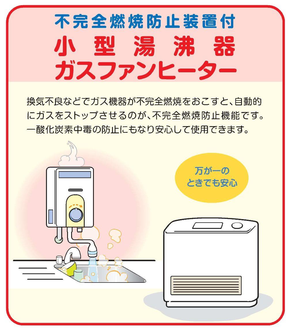 新発田ガス_ガスファンヒーター